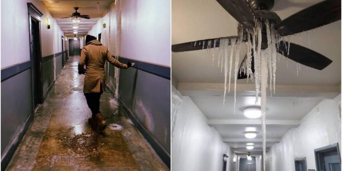 Onda de frio no Texas: foto de ventilador com 'cascata congelada' viraliza nas redes sociais
