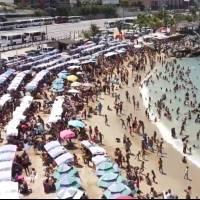 ¿Y la pandemia? Abarrotan playas de Venezuela por temporada de Carnaval