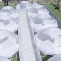 Diseñan domos portátiles para pacientes de Covid-19