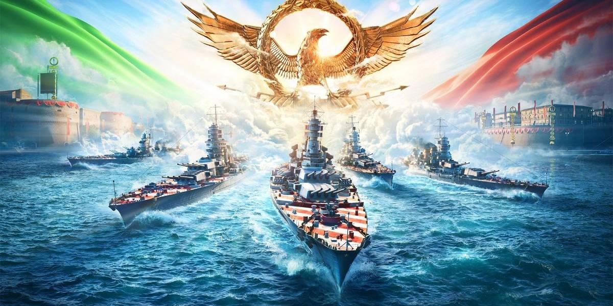 Atualização 0.10.1: novos encouraçados italianos chegam ao World of Warships