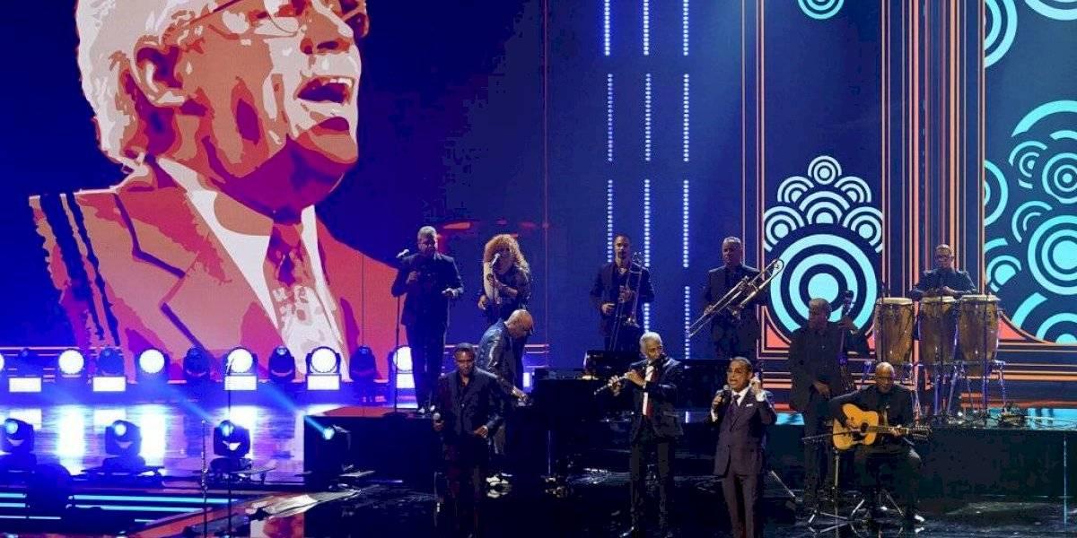 Gilberto Santa Rosa lidera homenaje a Johnny Pacheco en Premio Lo Nuestro