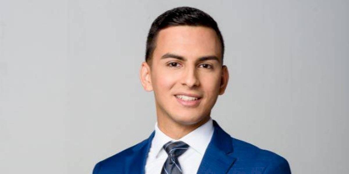 Jeremy Ortiz se convierte reportero-ancla de Telenoticias Fin de Semana