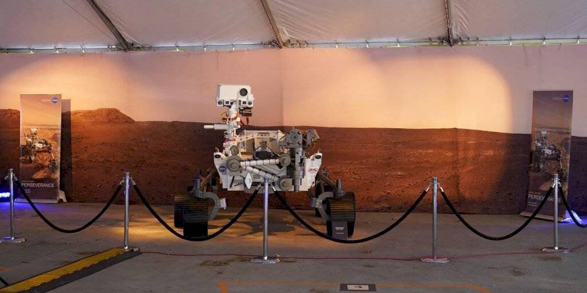 Estas son las primeras imágenes que el Perseverance transmitió desde la superficie de Marte