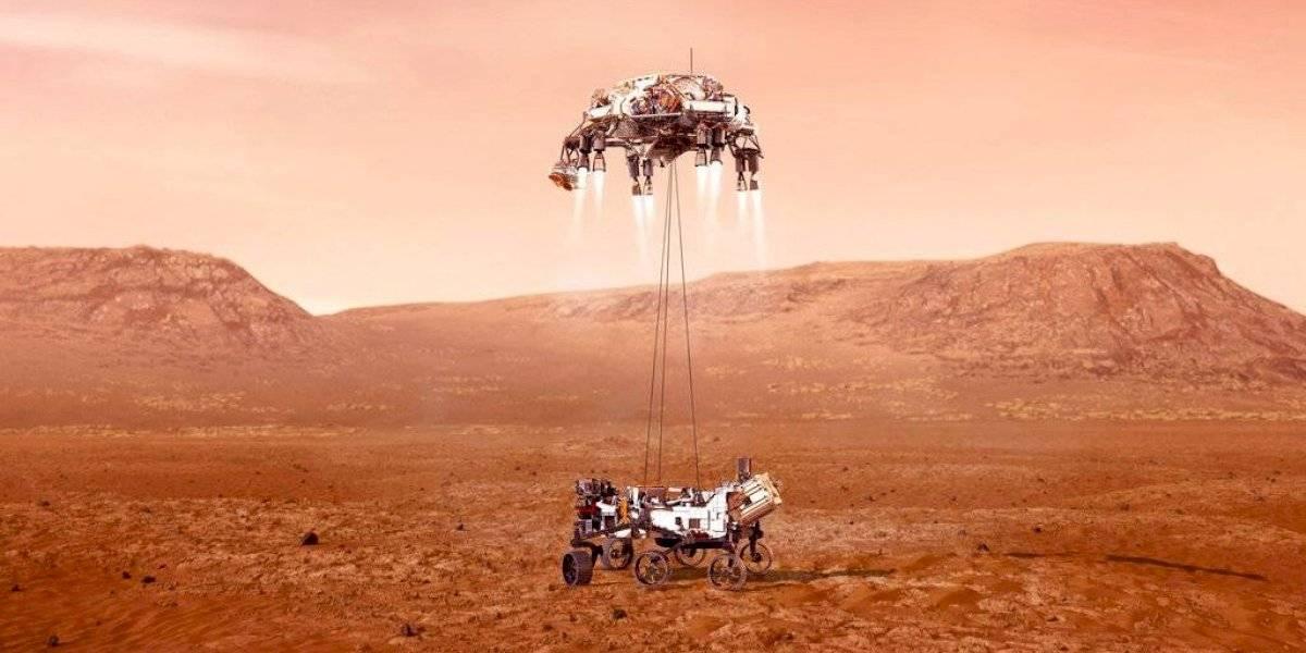 ¿Cómo será la llegada de la misión Perseverance de la NASA a Marte?