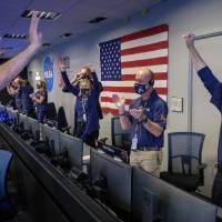 Así fue la reacción de los científicos en el JPL con el aterrizaje exitoso del Perseverance