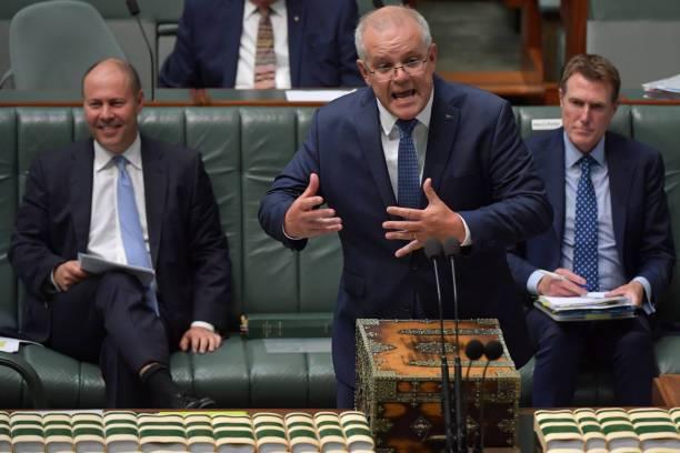 Scott Morrison, primer ministro de Australia.