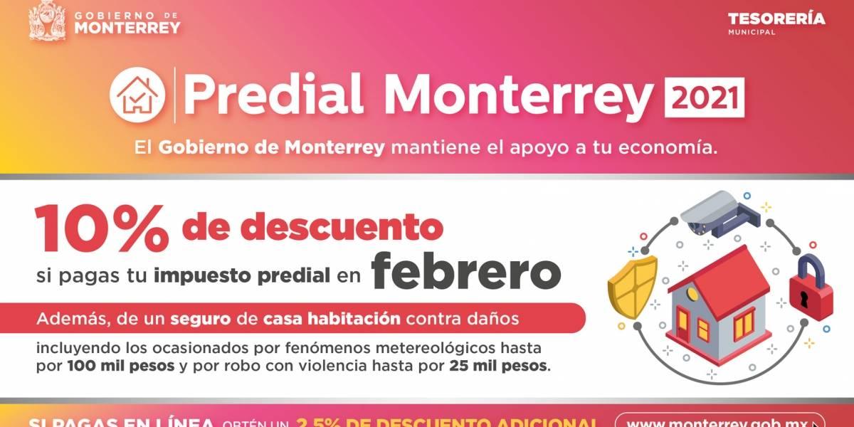 Anuncio Gobierno de Nuevo León edición Monterrey del 19 de Febrero del 2021, Página 3