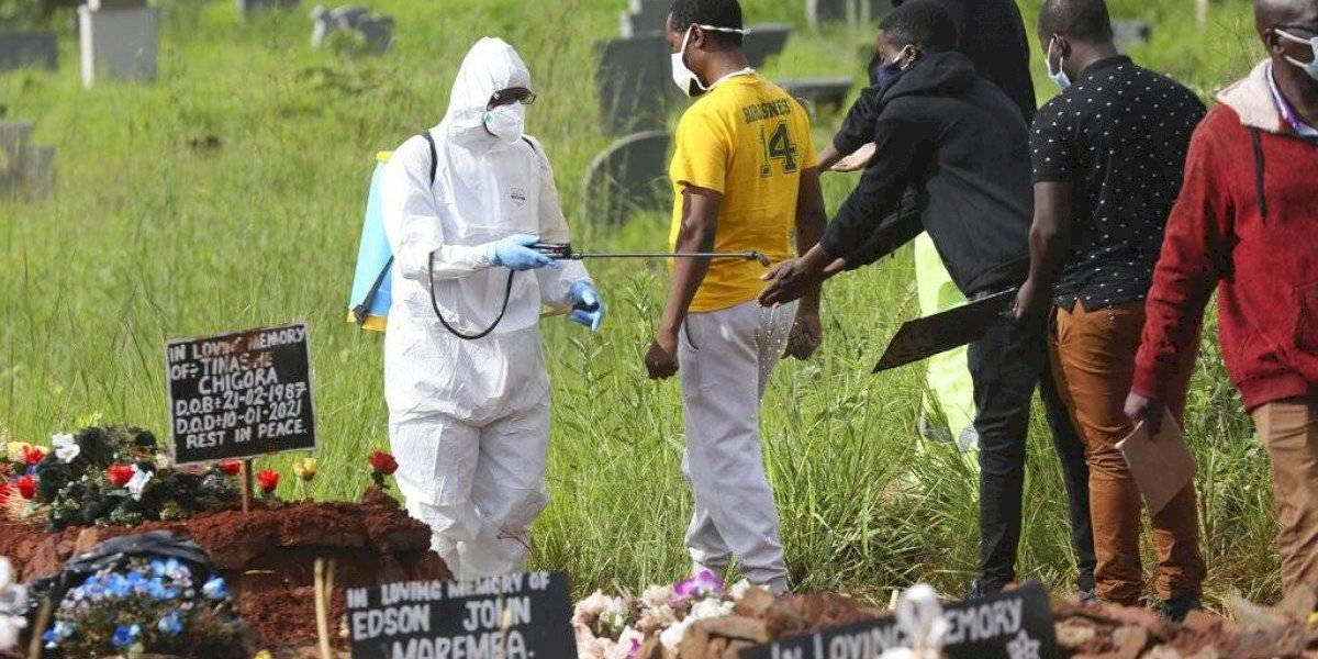 África supera 100 mil muertes por coronavirus