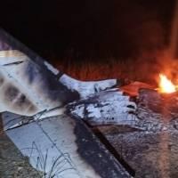 Encuentran avioneta accidentada y posteriormente incinerada en San Lorenzo (Esmeraldas)