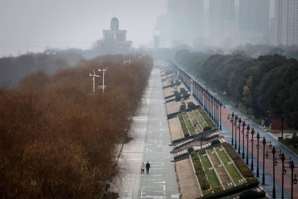 El confinamiento por el coronavirus en Wuhan, China