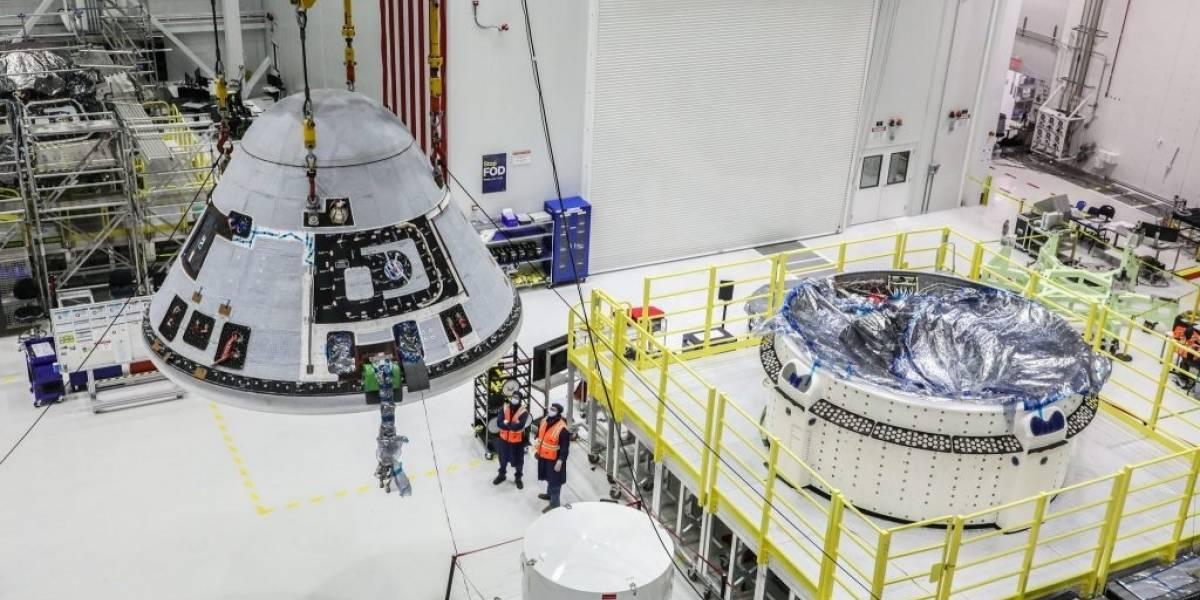 El siguiente paso de la NASA es optimizar la nave que fabrican junto a Boeing para llevar personas a estaciones espaciales