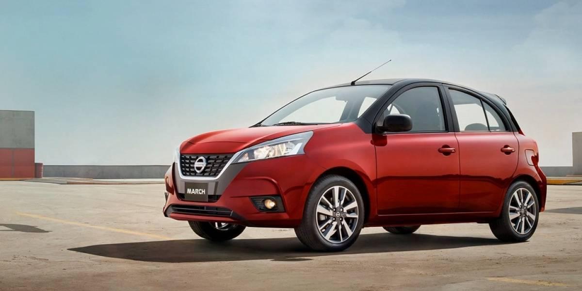 Nissan March 2021 cambia de adentro hacia afuera