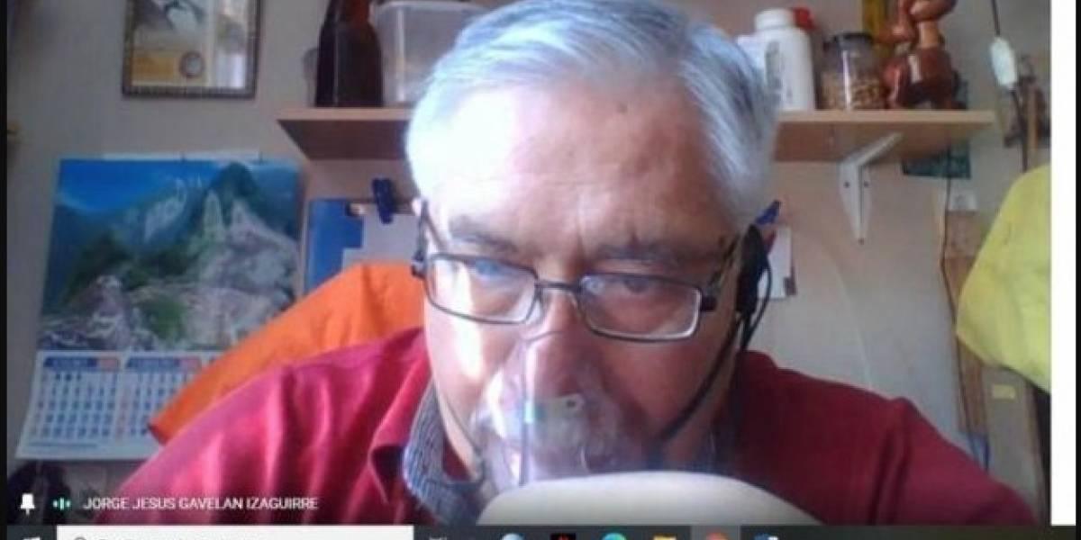 Profesor en Perú que murió de COVID-19 daba clases mientras estaba con tanque de oxígeno