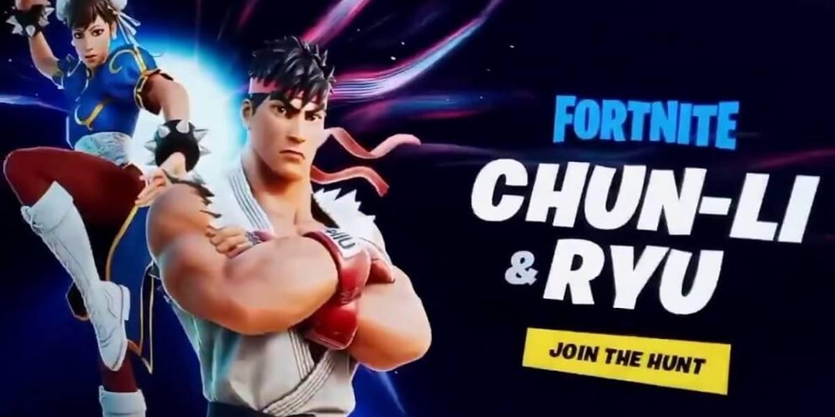 Fortnite: Chun-Li y Ryu de Street Fighter llegarán al juego según filtración