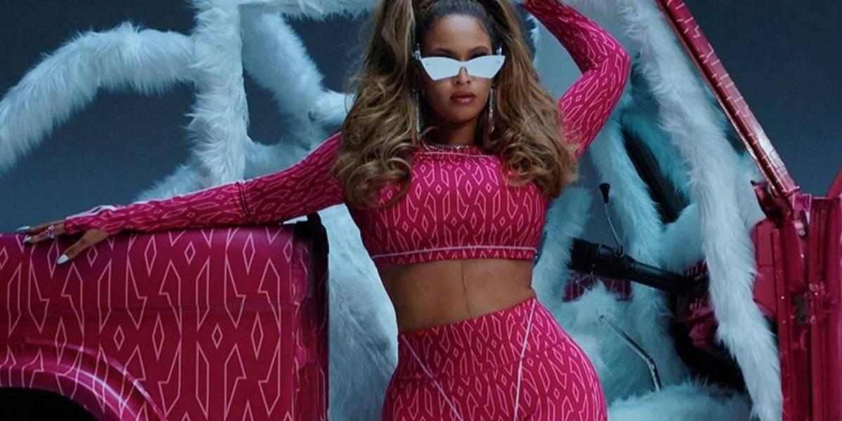 Beyoncé muestra su trasero para promocionar su nueva línea de ropa