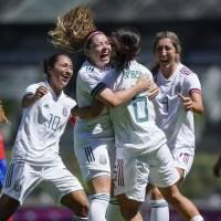 Tri femenil firma regreso triunfal al Estadio Azteca ante Costa Rica