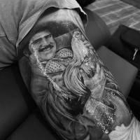 ¿A quién pertenece este tatuaje de Vicente Fernández?