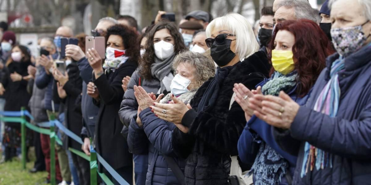 Italia conmemora primer aniversario de llegada del coronavirus