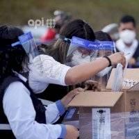 Andrés Arauz, Guillermo Lasso y Diana Atamaint reaccionan a intervención de Contraloría y Fiscalía