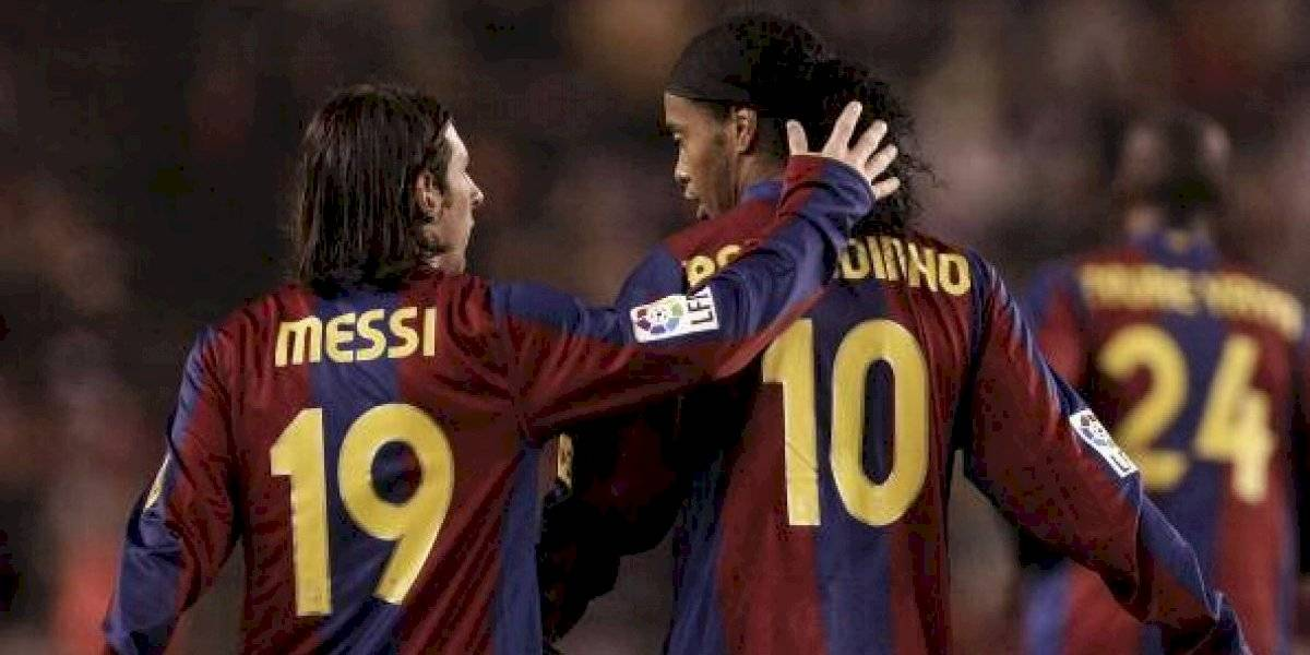 Lionel Messi envía mensaje a Ronaldinho tras la muerte de su madre