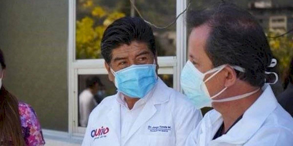 Alcalde de Quito, Jorge Yunda, extiende mensaje por el Día del Médico Ecuatoriano