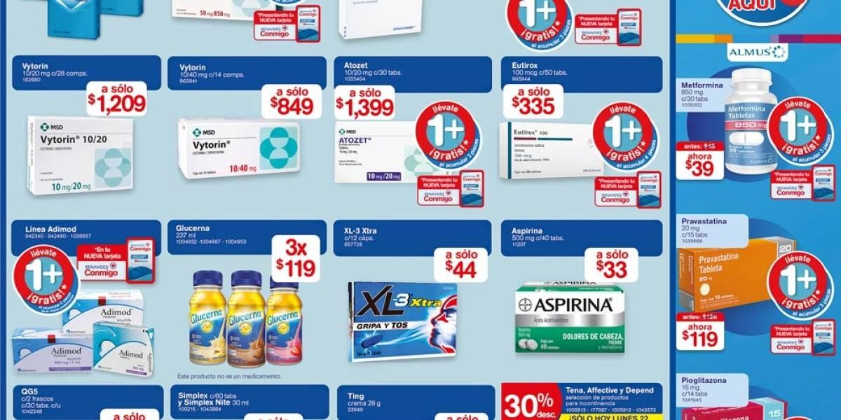 Anuncio Farmacias Benavides segura edición CDMX del 22 de Febrero del 2021, Página 7