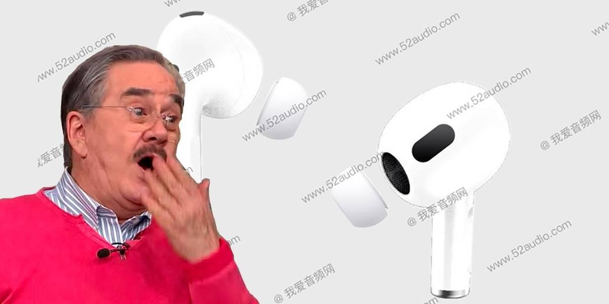 Apple AirPods 3 se filtran en fotos y lucen geniales