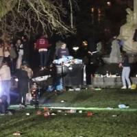 ¡Sin medidas! Policía desmantela fiesta clandestina en parque de Ámsterdam
