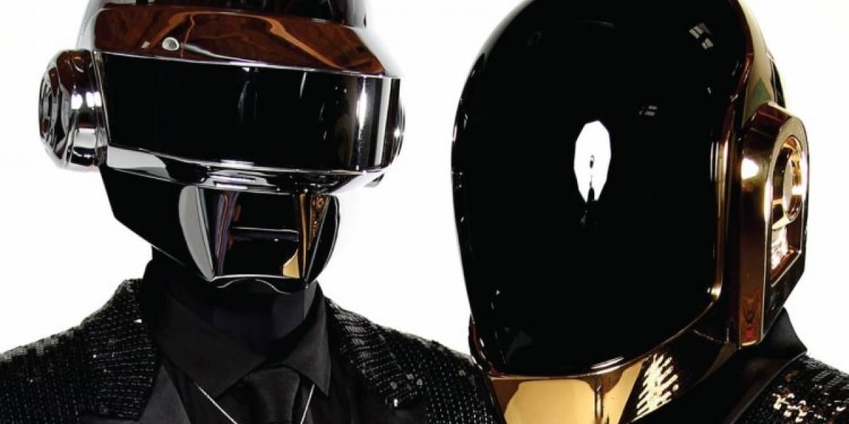 Daft Punk: ¿podían ver con los cascos en sus cabezas?