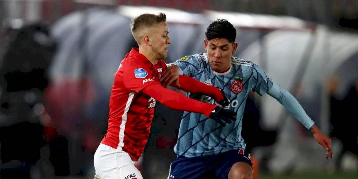 Prensa holandesa elogia a Edson Álvarez por actuaciones con el Ajax