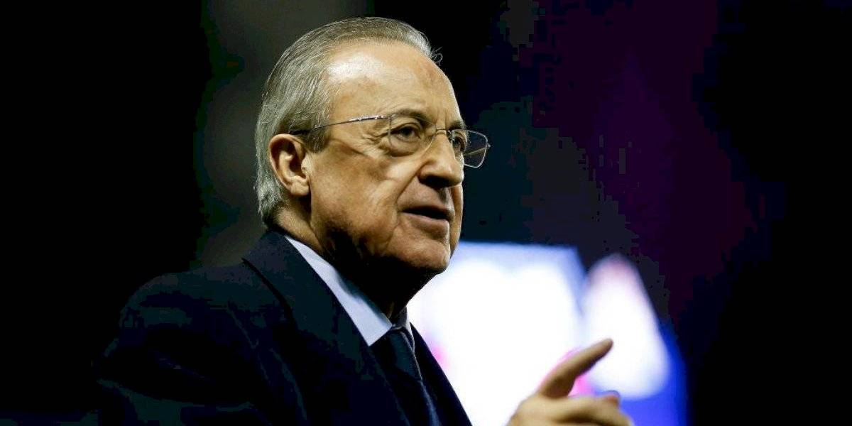 Florentino Pérez supera el coronavirus