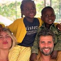 """Giovanna Ewbank compartilha as dificuldades de viajar em família: """"grande emoção"""""""