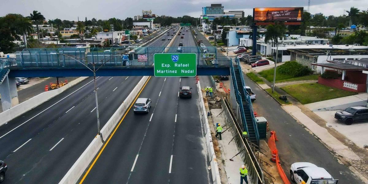 Estrenan sistema de seguridad vial en expreso Rafael Martínez Nadal