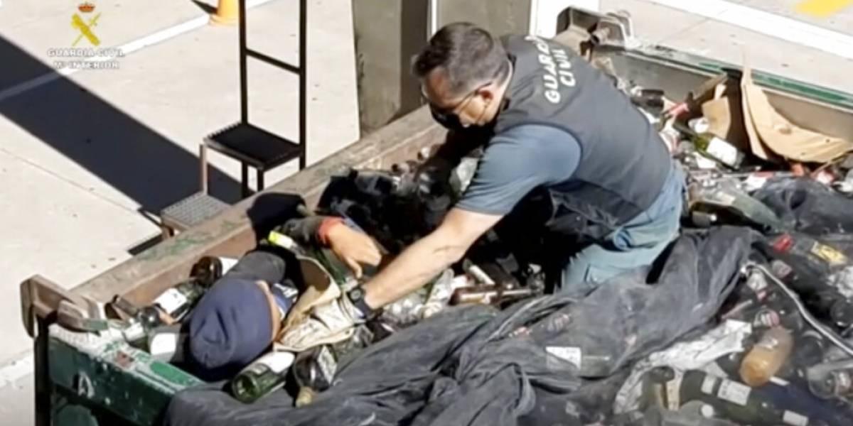 Migrantes llegaron a España ocultos entre cristales y cenizas tóxicas