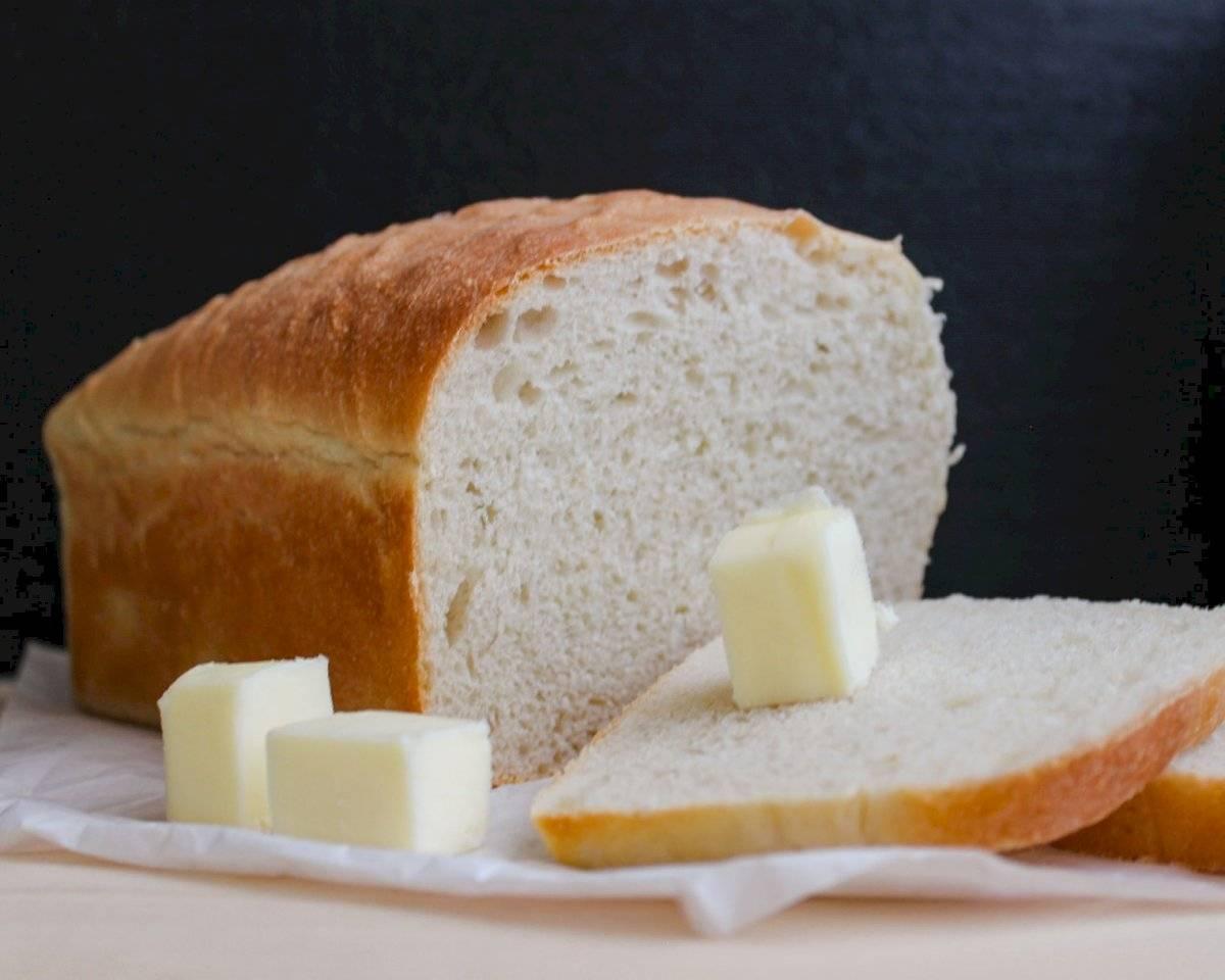 El exceso de pan blanco puede causar enfermedades cardiovasculares.