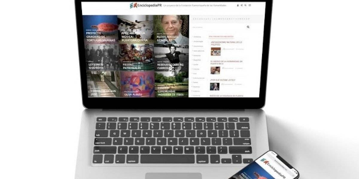 Fundación Puertorriqueña de las Humanidades renueva la Enciclopedia PR