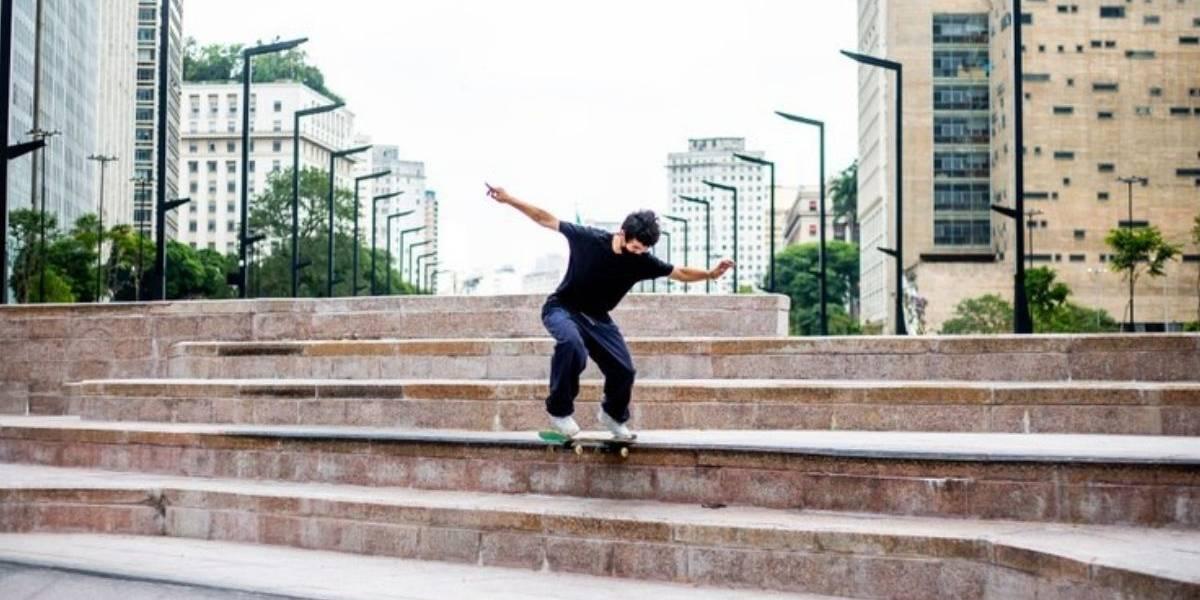Área para skate é liberada no Anhangabaú