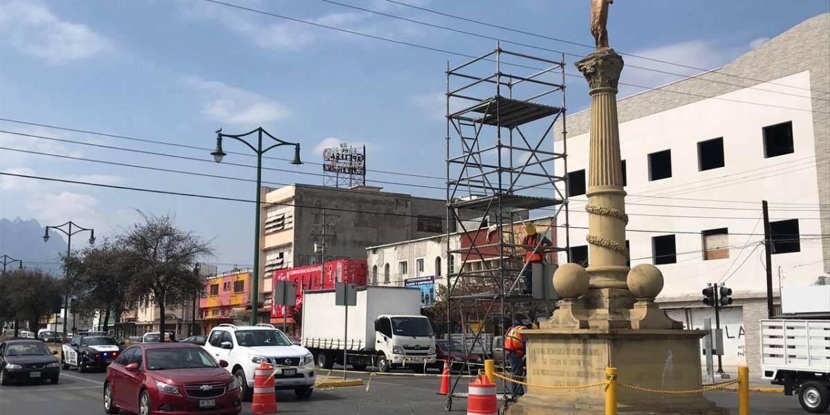 Aplican cierres viales por revisión del Ángel de la Independencia