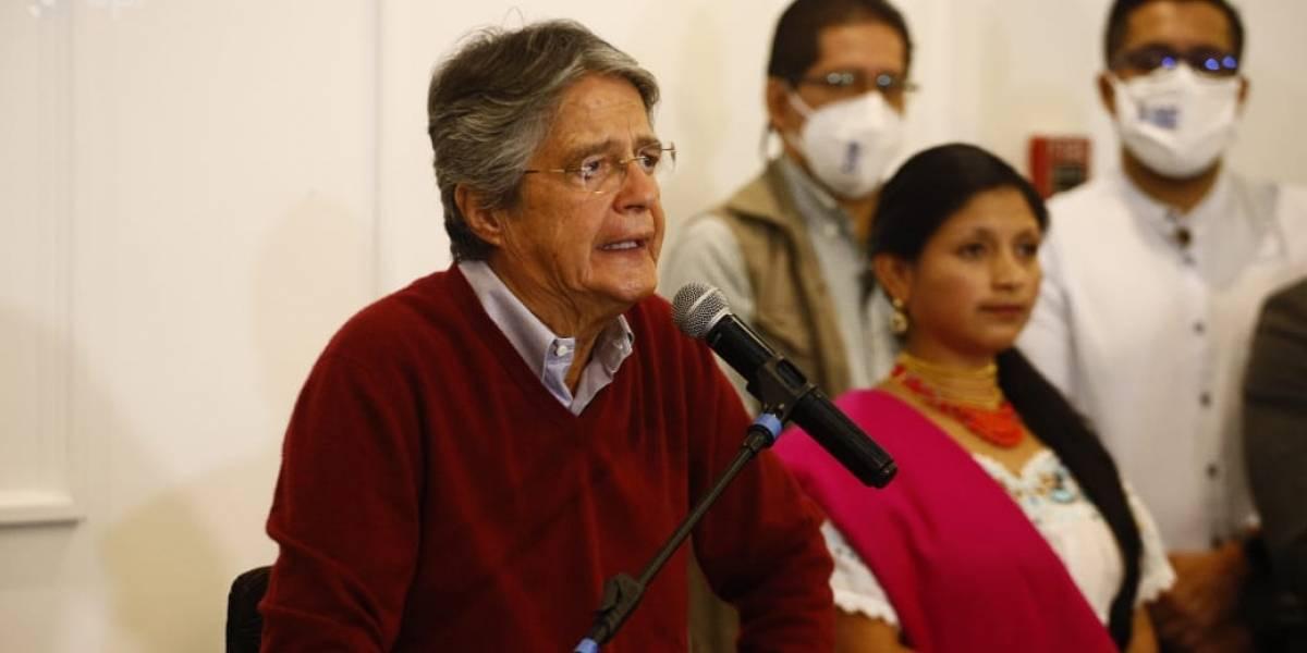 Guillermo Lasso plantea vacunar a 9 millones de personas en 100 días