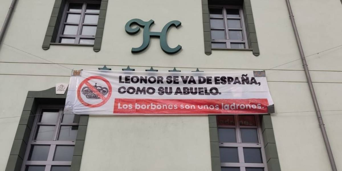 Casa Real.- Ayuntamiento de Valladolid retirará la pancarta de la Molinera sobre la Casa Real si su colocación incumple las normas