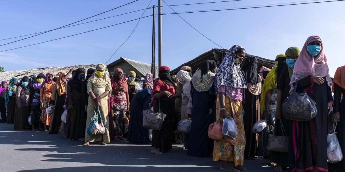 Birmania.- Bruselas anuncia 39 millones de euros para ayudar a la minoría rohingya en Birmania y Bangladesh