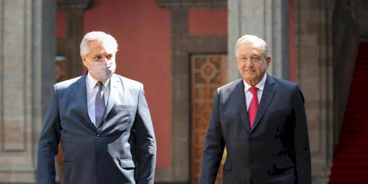 Encuentros y desencuentros entre Alberto Fernández y López Obrador