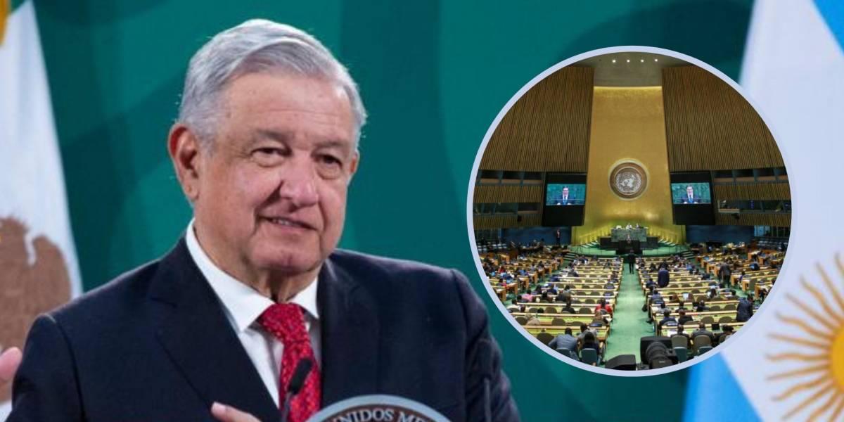 La ONU parece un florero, está de adorno: López Obrador