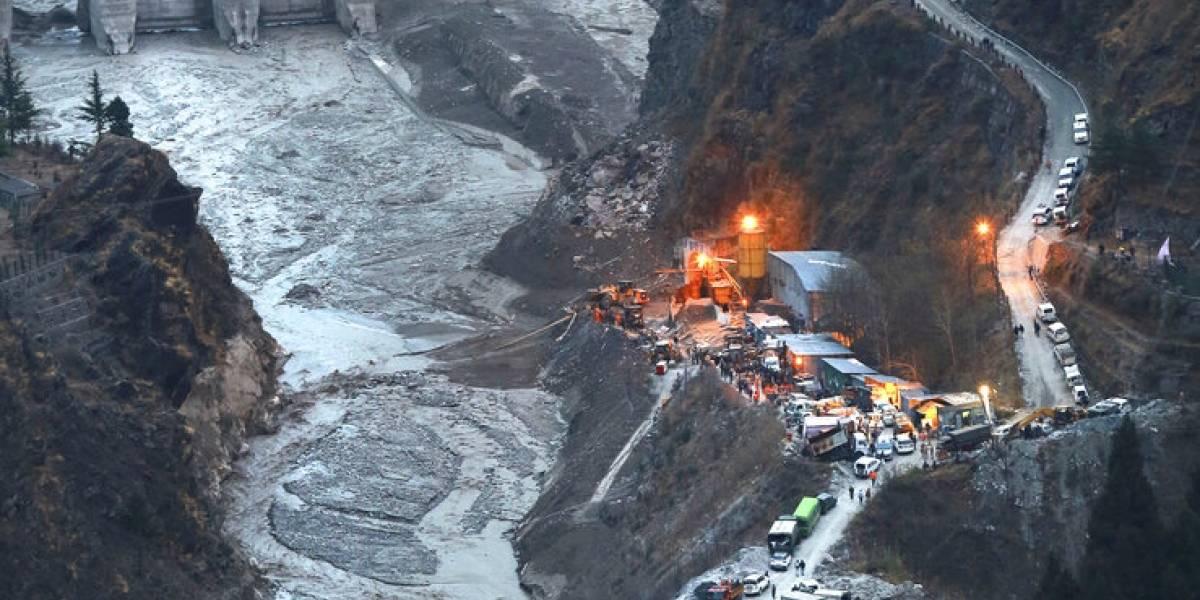 India declarará muertos a los cerca de 140 desaparecidos tras desprendimiento de un glaciar