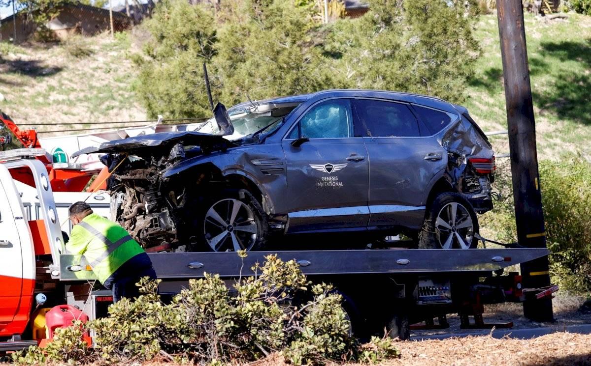 """El golfista Tiger Woods, que este martes sufrió un accidente de tránsito, se encuentra en condición """"estable"""""""