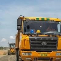 A buen ritmo avanzan trabajos en vía de acceso al Puerto de Aguas Profundas