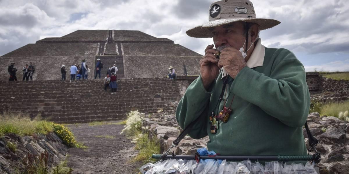 Reabrirán Teotihuacán este miércoles al 30% de su aforo