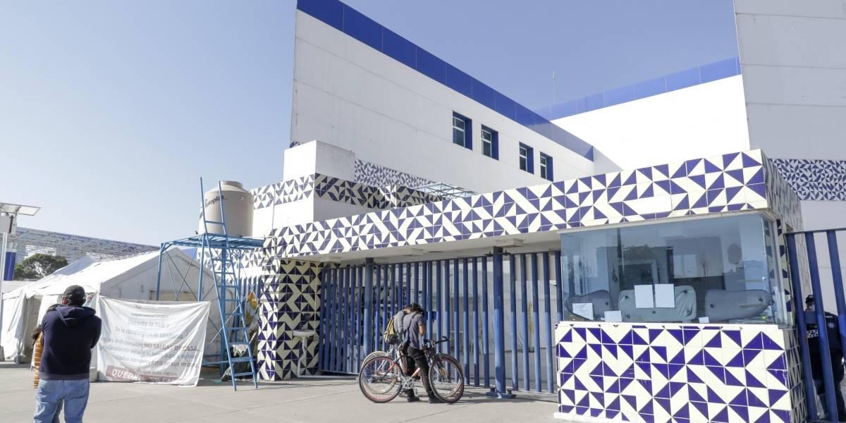 Baja a 50% la ocupación de camas en hospitales Covid de Puebla
