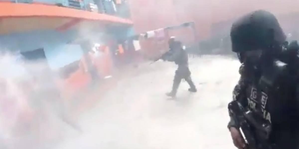 Videos: así fue la intervención policial en las tres cárceles del Ecuador