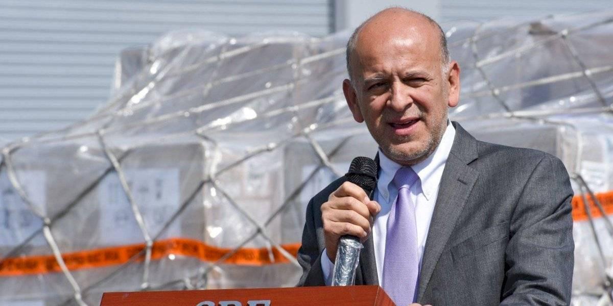 Juan Antonio Ferrer, titular del Insabi, da positivo a Covid-19